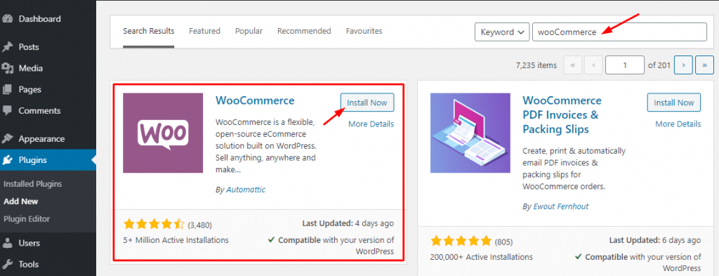 installing to learn How to Use WooCommerce